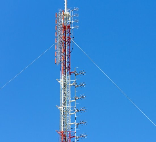 FAA type A broadcast industry telecom tower