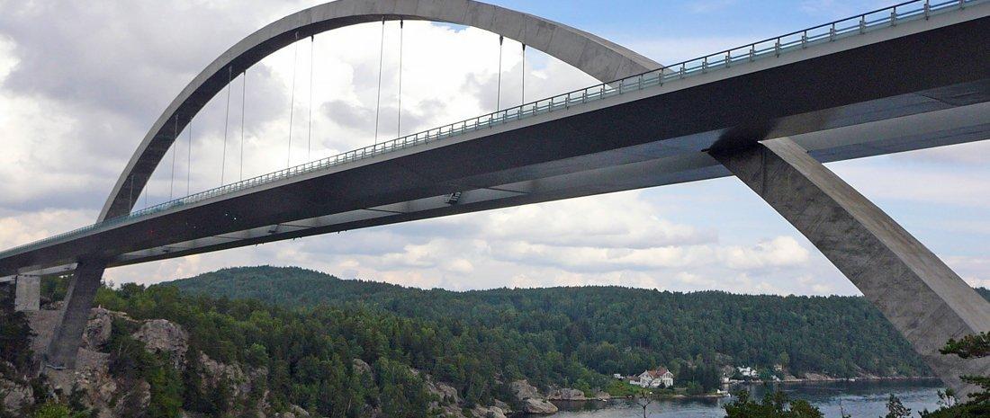 Svinesund Bridge Norway Amp Sweden Bridge Lighting