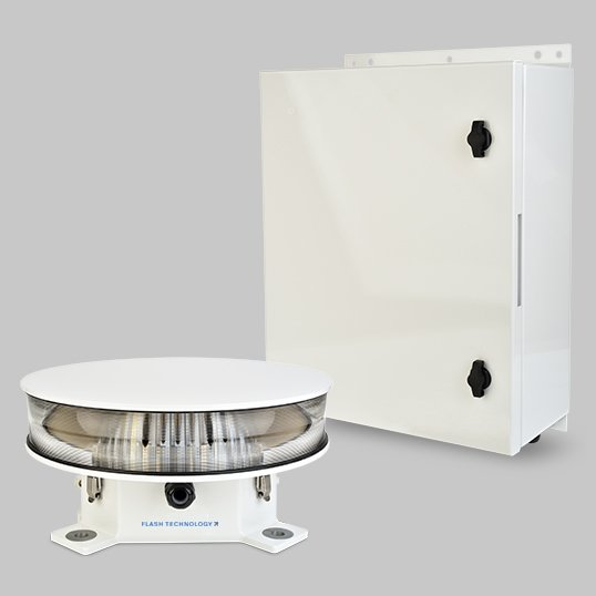 FTS 370w Vanguard Luces de torre de LED blanco medio y sistema de iluminación de obstrucción