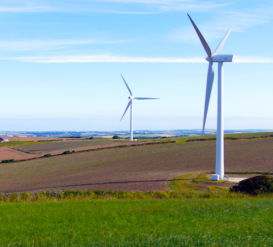 Flash Provides Lighting For Invenergy Wind Farm Wind