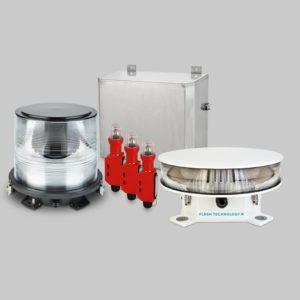 FTB 311L Dual LED & xenon L-864 / L-865 Medium Intensity Obstruction Lighting System with Eagle