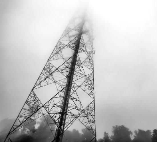 iso 9001 black white tower