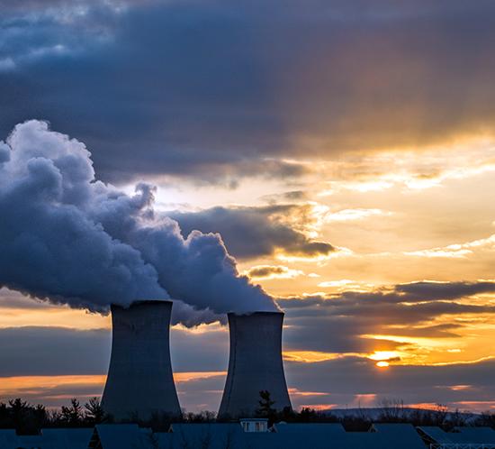 limerick generating power plant tower lighting