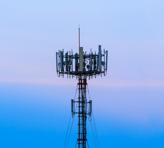cell tower light monitoring