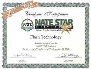 NATE STAR reconoce a los constructores de torres y compañías de mantenimiento que incorporan prácticas de seguridad.