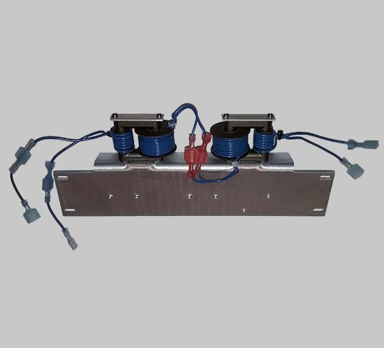 Installed coupling transformer for FTB 205 high intensity lighting system