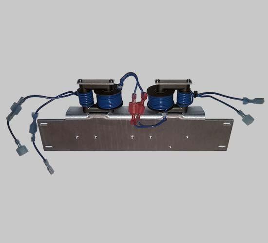 Installed coupling transformer for FTB 205 high intensity lighting system
