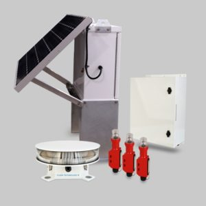 Vanguard Medium FTS 371 dual solar obstruction lights
