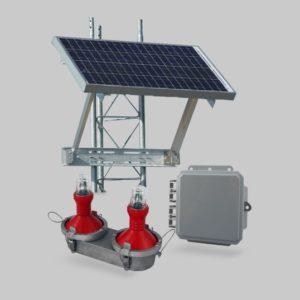 Solución solar Vanguard Red FTS 371 A0 para fuera de los Estados Unidos