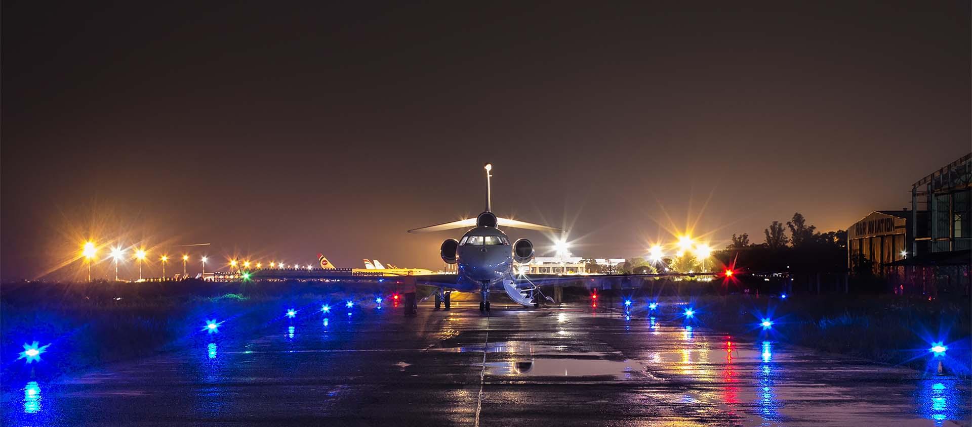 Carmanah Aeropuerto y Obstrucciones Adquisición