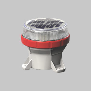 A650 solar barricade light and taxiway edge lights