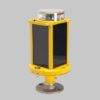 A704 solar runway threshold lights are available in 3 battery sizes to accommodate any solar region