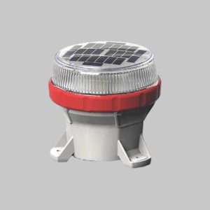 The OL4 red solar hazard marker light is designed for tough industrial locations such as mine and construction zones