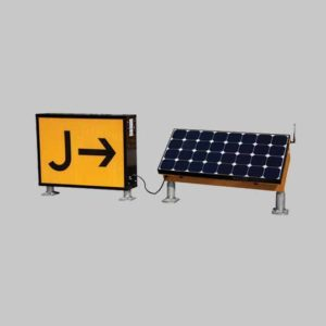 Illuminated solar LED airfield signs improve airfield safety