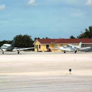 A600 series edge lights at Mangrove Cay Airport