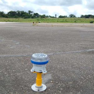 A650 airfield lights replace traditional lights at Port Harcourt International Airport in Nigeria