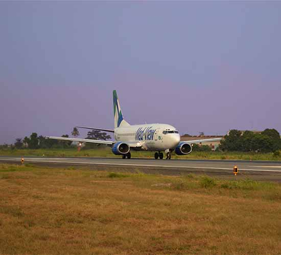 10 airports in Nigeria employ solar airfield lighting to mark their runways