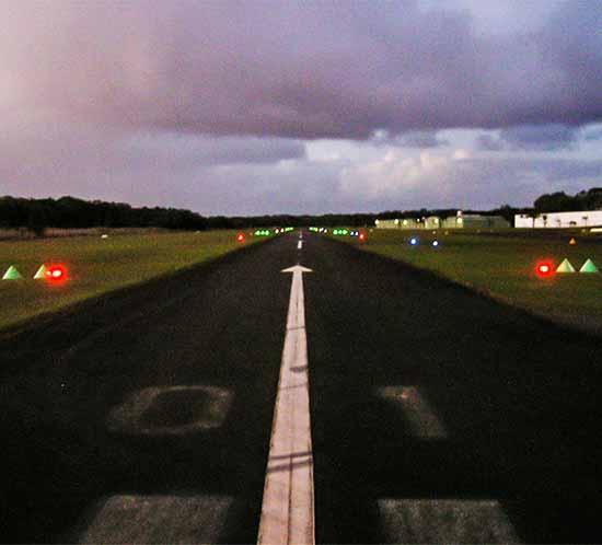 Theodore Airport runway