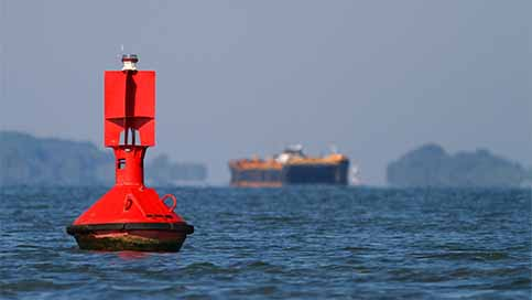 M650 solar buoy light