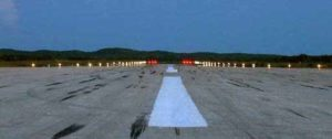 solar airport runway lights