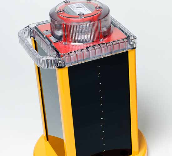 OL800 solar obstacle lights