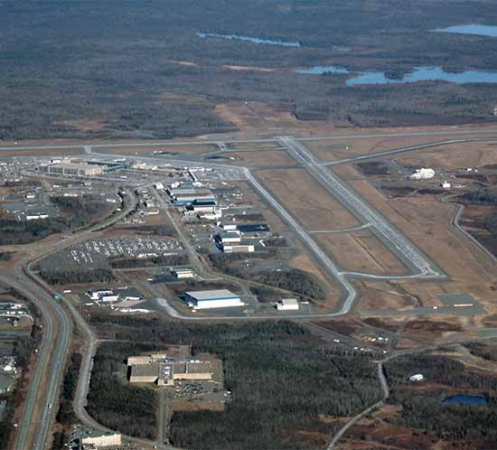 Halifax International Airport (YHZ) employs solar airport lights