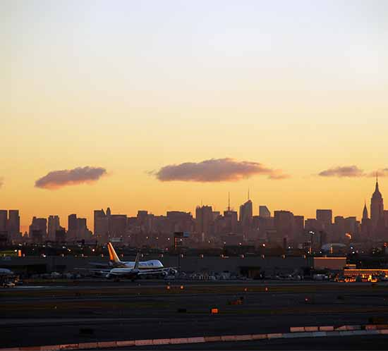 Airport in New York