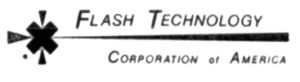 Flash Technology Corporation of America's logo in 1970