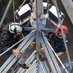 Vanguard High FTS 270 high intensity obstruction light installation
