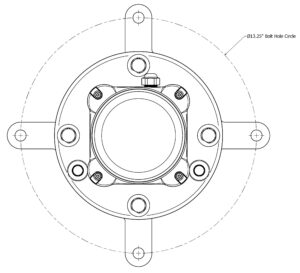 FTS 350i adaptor plate