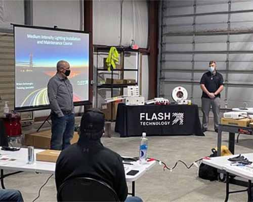 Flash University conducts on-site training in Kentucky