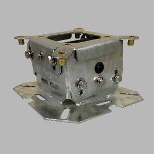 galvanized universal mounting bracket for wind turbine lights